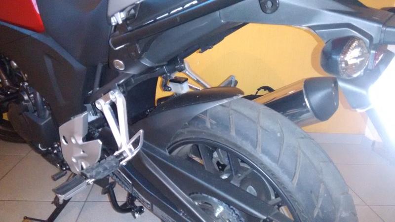 Adaptação da capa corrente CBR250R na X 345fq6s