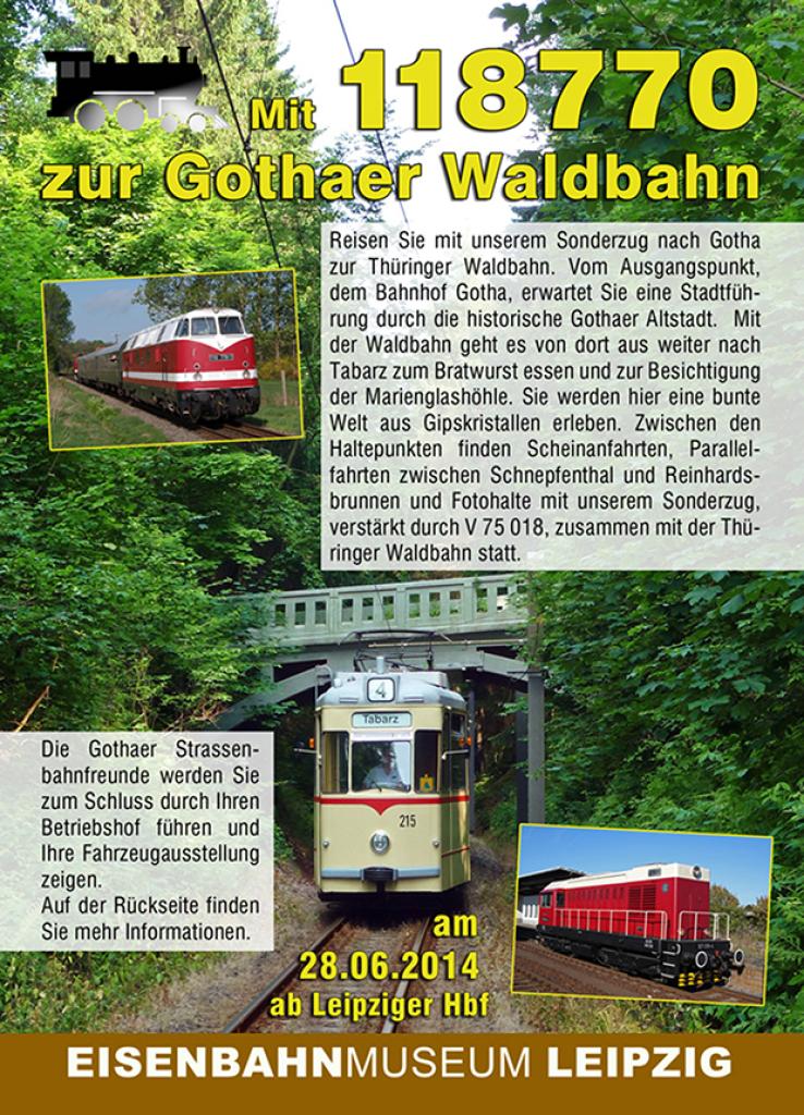 Sonderzug am 28.06.2014 mit 118 770 und 107 018 nach Gotha/ Friedrichroda 34qlkiw