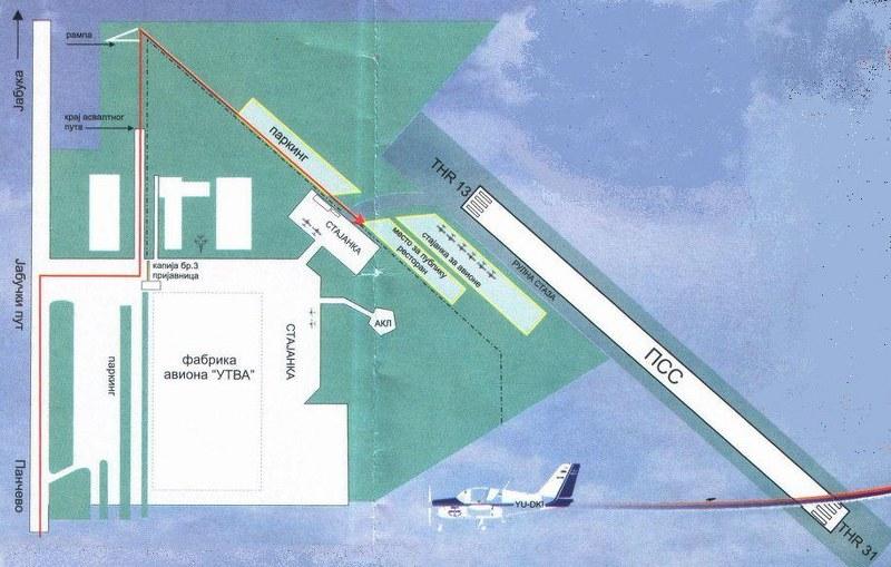 Aerodrom Pančevo VP 4310, VP 3106 34ryo0x