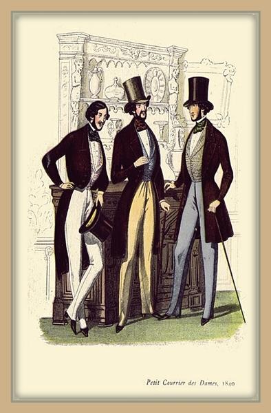 Imágenes de Indumentaria del periódo Romántico (1830-1850 aprox.) 34sjdkk