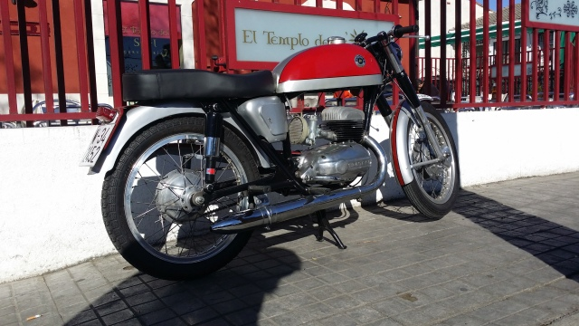 De vuelta a la carretera: Bultaco Tralla 102 350pgco