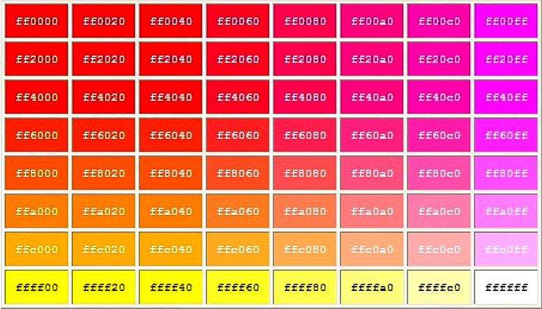 أكواد الألوان.. اختر اللون وانسخ الكود..(02) 35mfibs