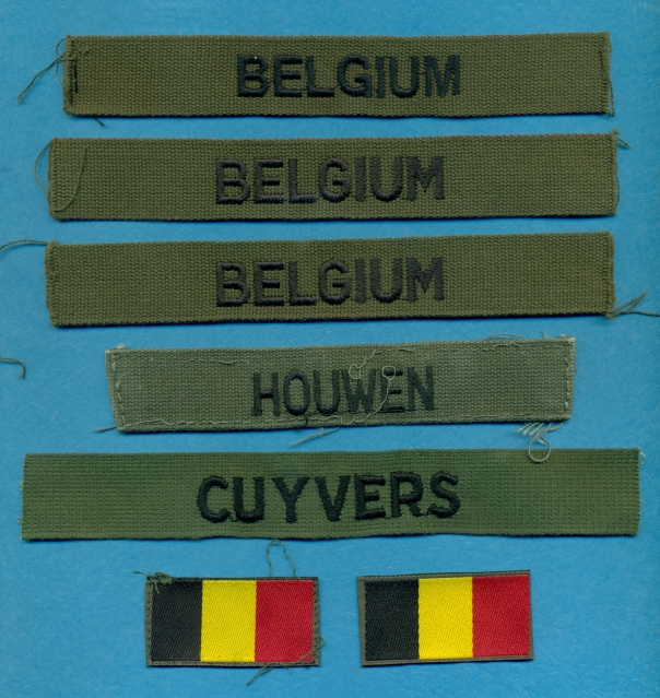 Some New Belgian Insignia and Armbands (ISAF, UN, etc) 4imqnd