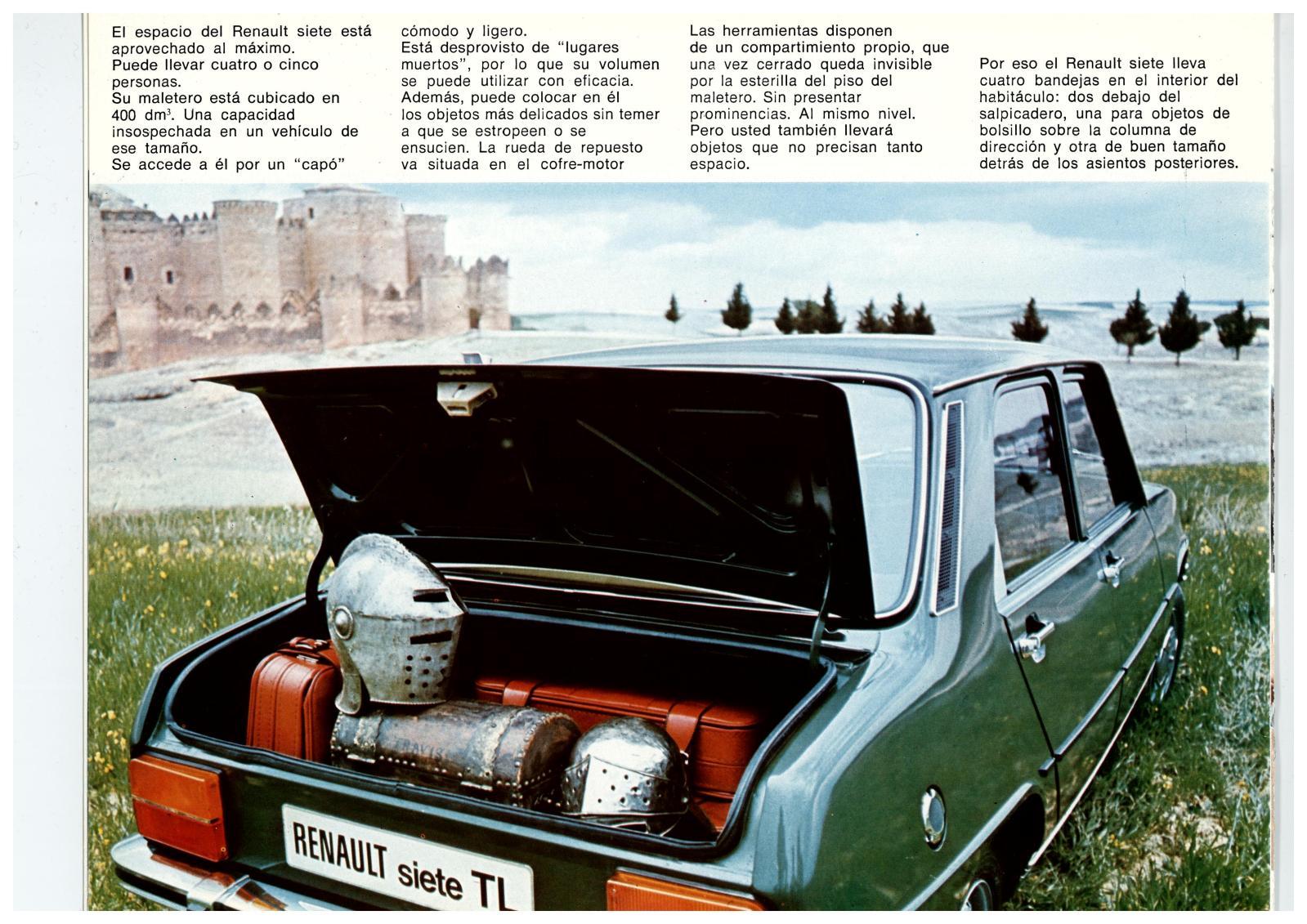 Los colores de los Renault Siete y 7 4v4qvq