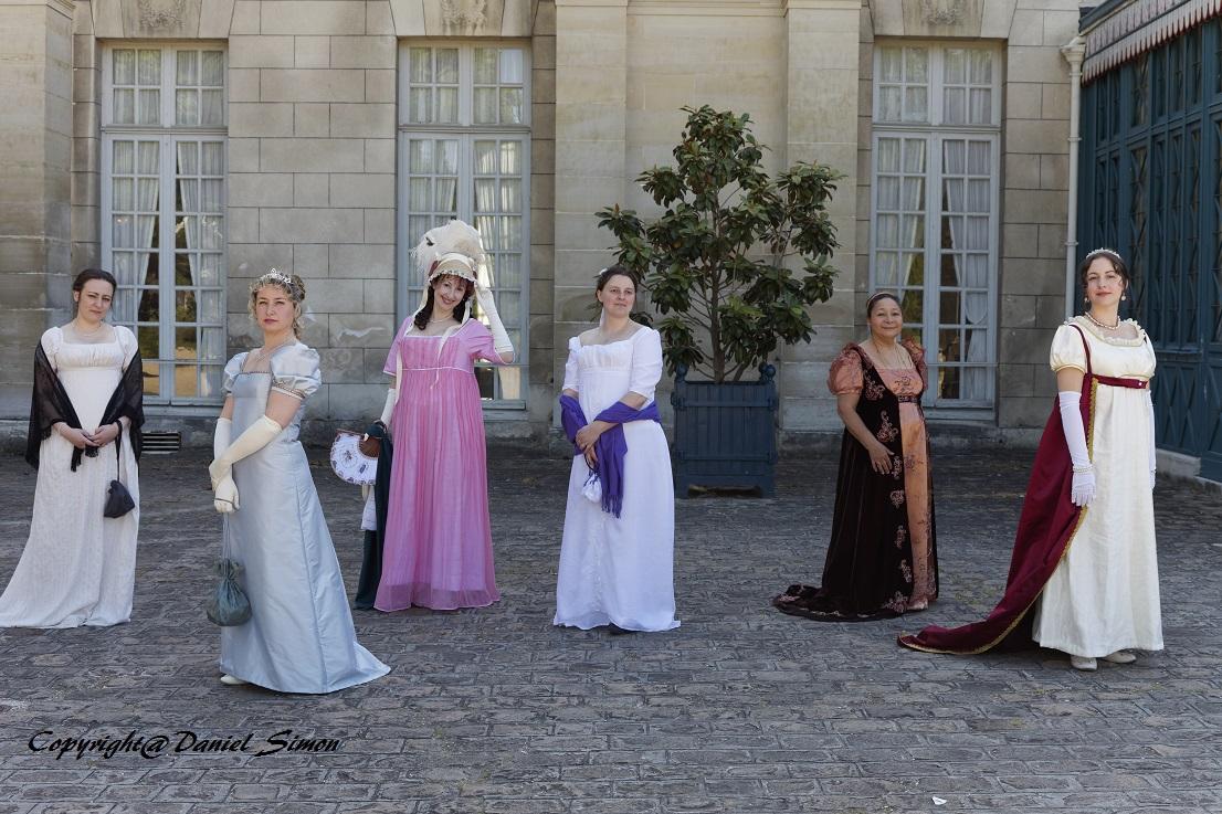 Francia - Castillo de la Malmaison (cerca de París) salida en traje primer imperio 10/05/2015 505jyw