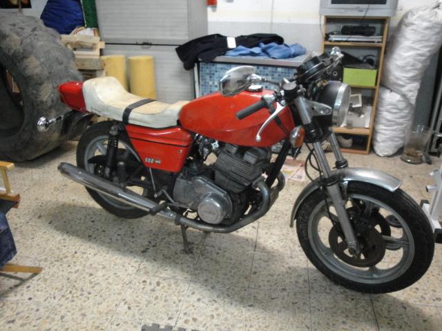 Mi nueva Laverda 500 54eue