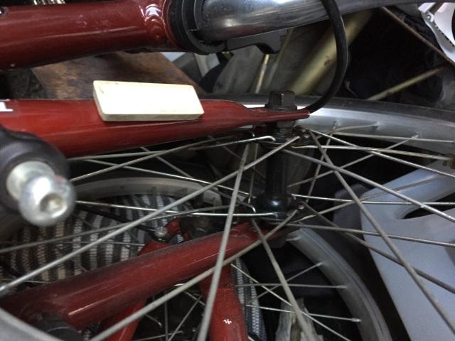 """Help kit eléctrico delantero plegable Monty F18 rueda 18 x 1.75"""" 5km0sm"""