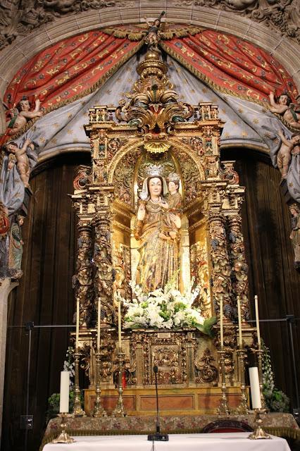 Medalla de Santiago Matamoros / Virgen con Niño -s. XVIII- 6prkht