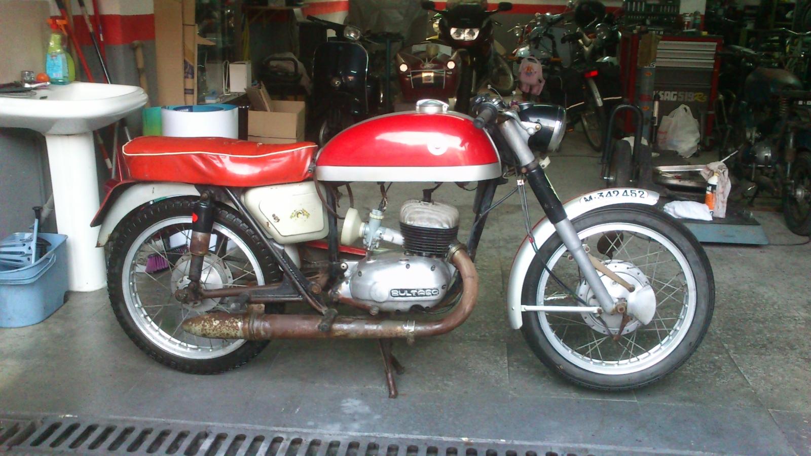 De vuelta a la carretera: Bultaco Tralla 102 71iw42