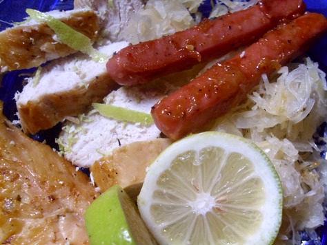 Σουκρούτ-Sauerkraut- με λουκάνικα 72rvnm