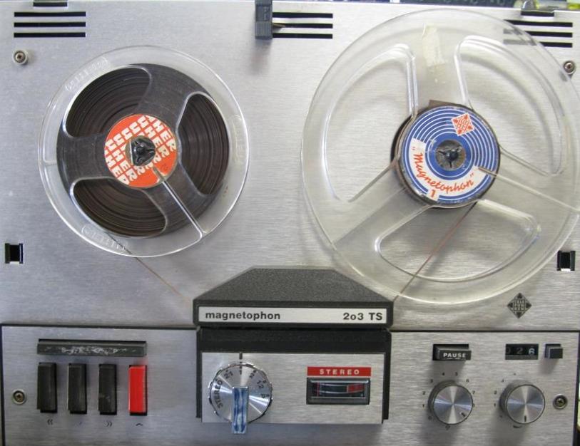 Telefunken Magnetophon 203 TS 9rosbk