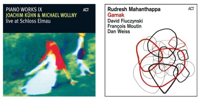 Doble Sesión: Joachim Kühn, Michael Wollny ( Live at Schloss Elmau) & Rudresh Mahanthappa ( Gamak) B5r5lc