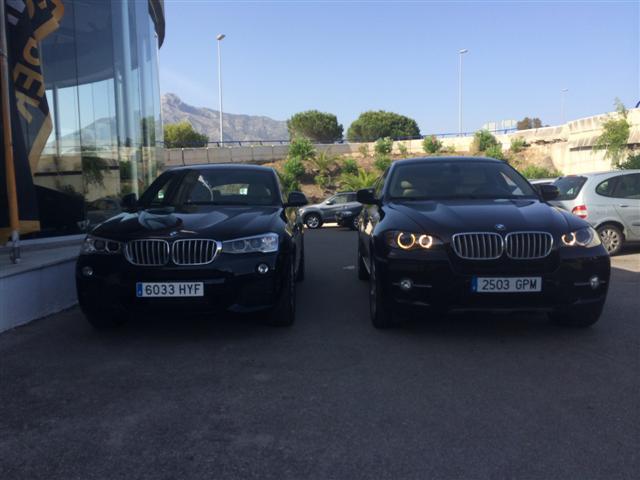 FOTOS: Comparativa BMW X4 Vs BMW X6. Diferencias... B7i0if