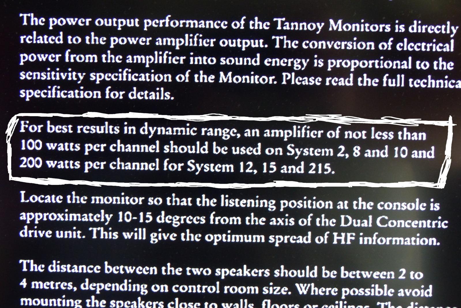 """Opina sobre Tannoy de gama seria, con altavoz de 10"""" y superior. ¿Acierto o fracaso?  Daasg"""