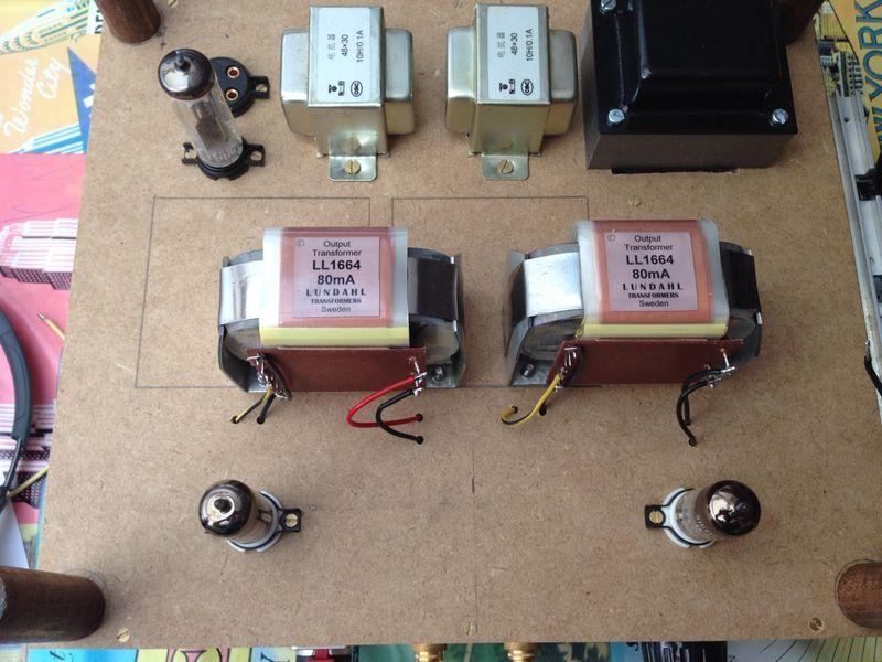 Proyecto Amplificador Triodeproject para auriculares Donedu