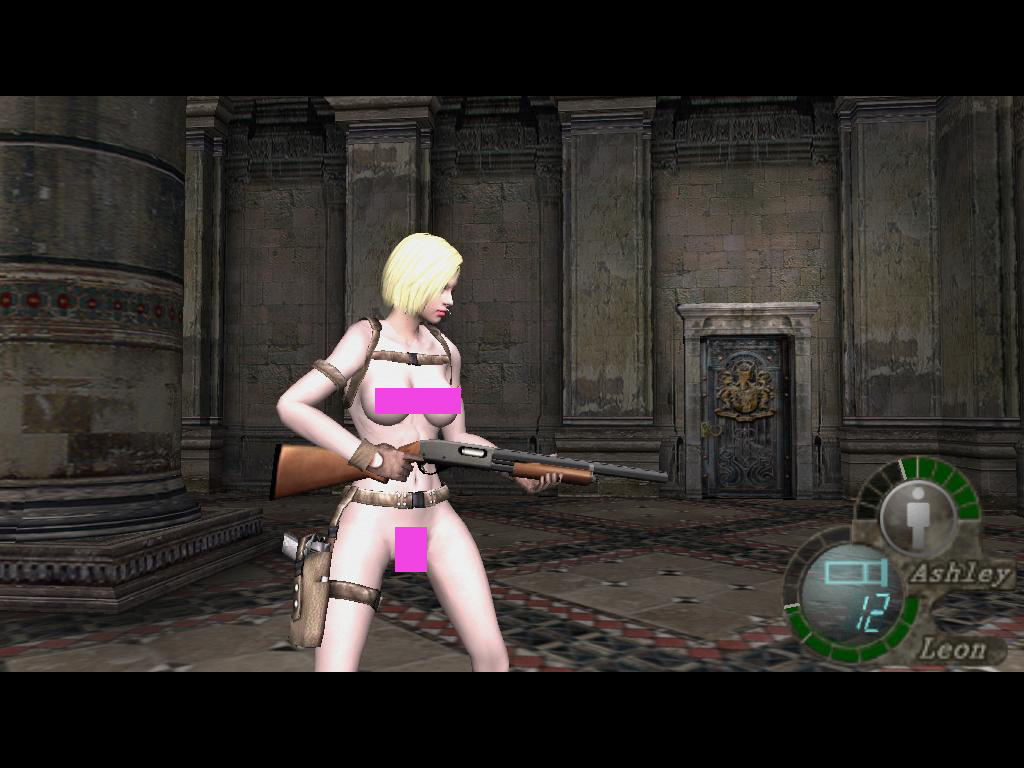 18+ Police Jill Nude to Leon (Main Game) Fbkow7