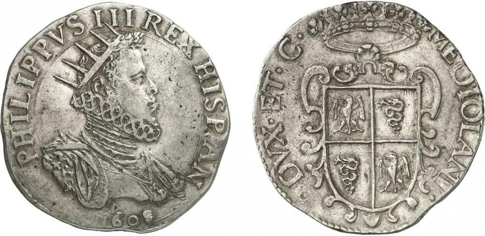 1 Ducatón Felipe III Milán Fys9h