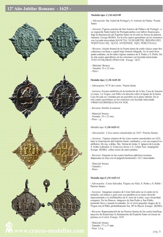 jubilares - Recopilación de medallas con fecha inscrita de los Años Jubilares Romanos  I3dqqf