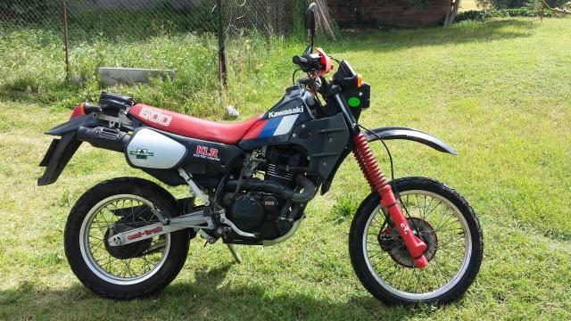 Mi Kawasaki KLR 600 I6l3bp