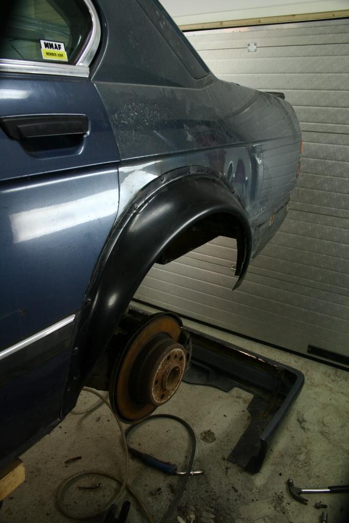 Börre: Bmw e28 Rebuilding // KalsongBlå Saab Ibds83