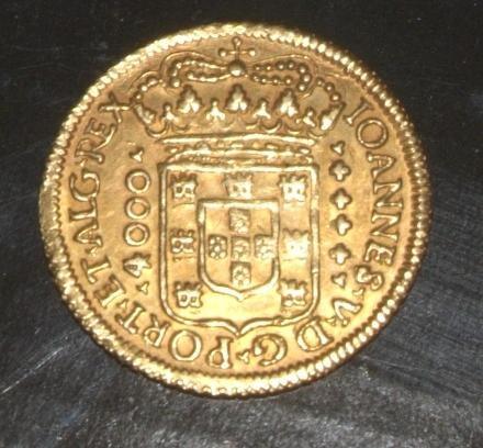 4000 Reis Ioannes V 1707 Jue0xt
