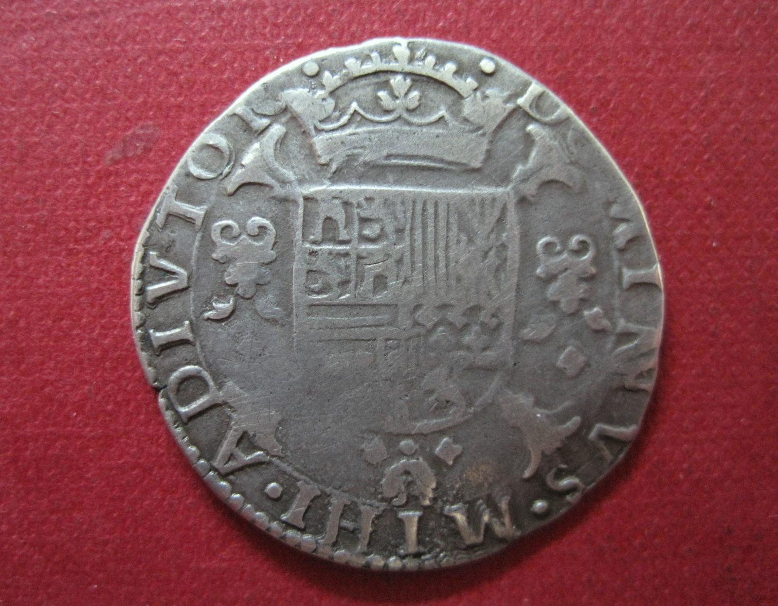 1/5 escudo 1567. Felipe II. Brujas K4bkmh
