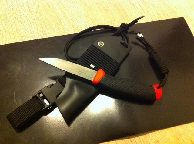 Morakniv Craftsmen knife 840 - Tuning  M9low1