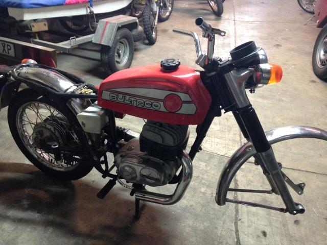 Recuperar Bultaco mercurio 175 GT Mr8rvd