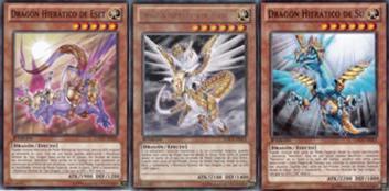 Deck dragón [Hieratico blanco] N386lj