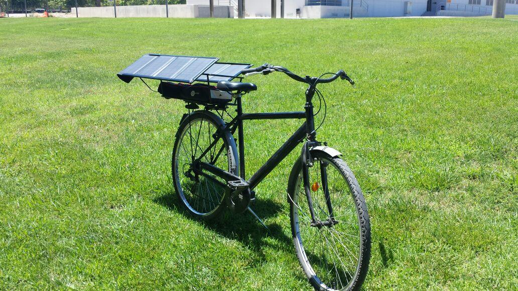 Cargador solar para bicicleta. N4crb9