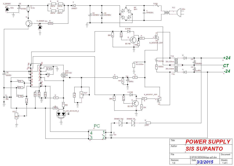 POWER SUPPLY AC MATIK  Nlxzle