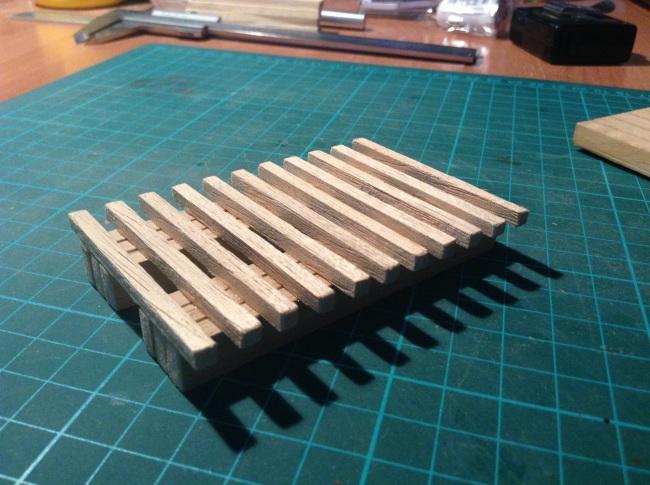 Pont de fusta tipus americà Oppg6d