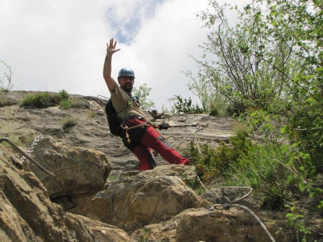 20120606 - FERRATA DE SACS - BENASQUE (Huesca) R7udmq