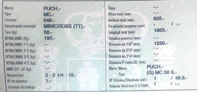 Puch MiniCross - ¿Modelo? Rk4euh