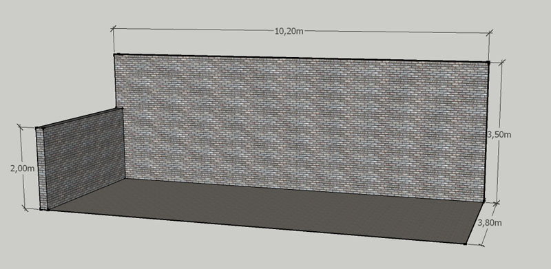 Ayuda para construcción de quincho con estructura metálica S4xt82