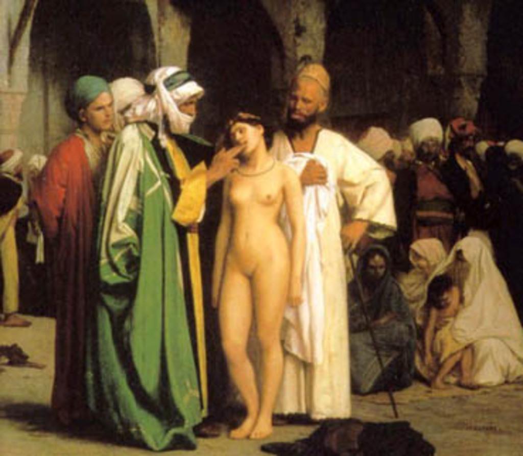 Negocio del esclavismo  a lo largo  de la historia  S6r79h