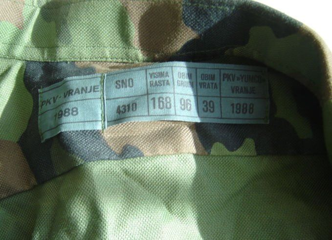 Nove uniforme i preustroj u JNA Vh83td