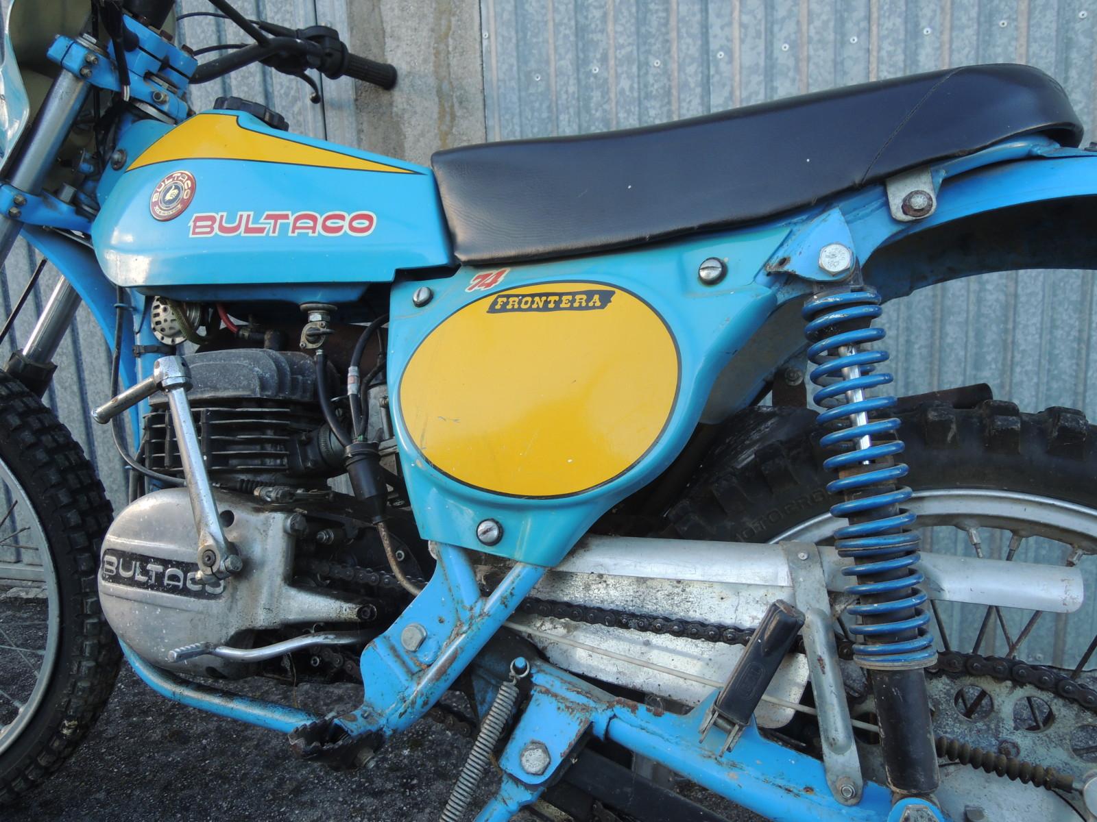 Bultaco Frontera - La Fronterita De Rafa Wcd1xw