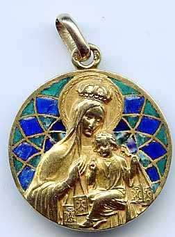 Virgen del Carmen / Sagrado Corazón X6n4o6