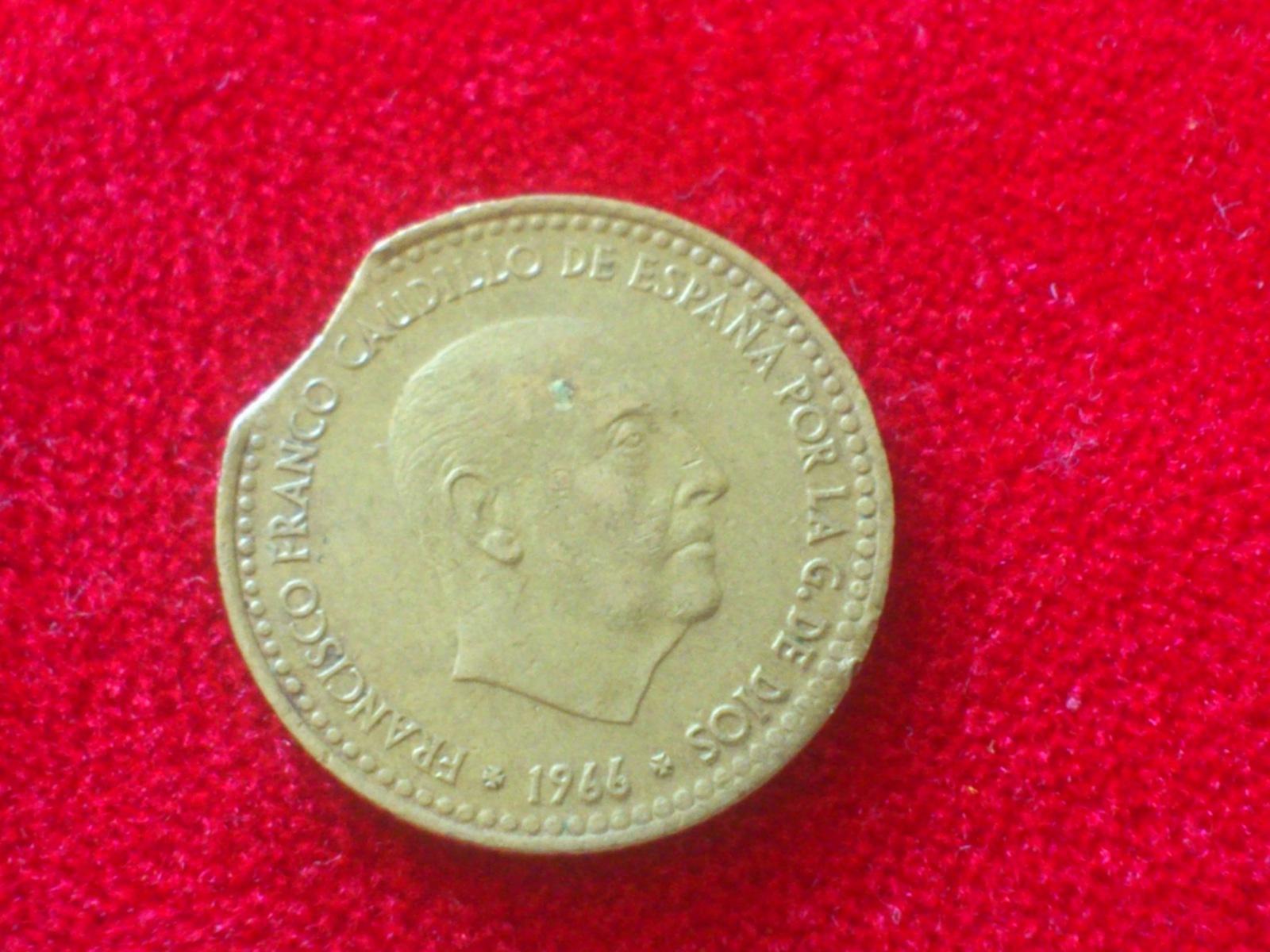 1 peseta 1966 * 75 segmentada Zivx1k