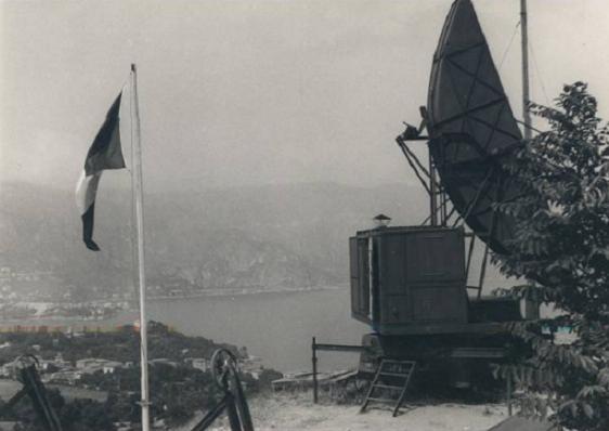 Radar mer, Cap Ferrat (Saint Jean, 06) Zspruf