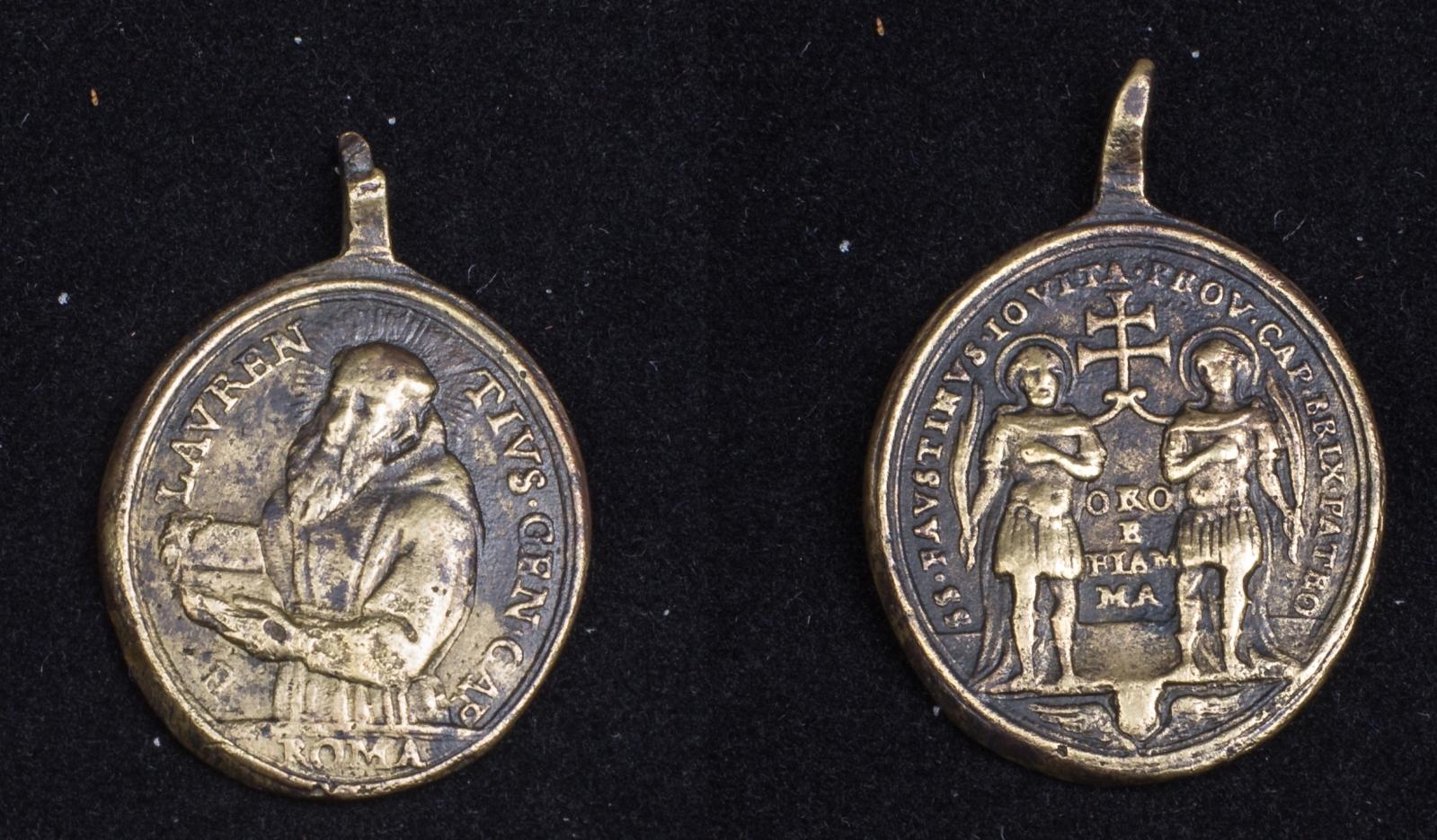 Medalla de San Lorenzo de Brindisi /  S. Faustino y San Jovita - (R.M. SXVIII-O308) 10ncjs2
