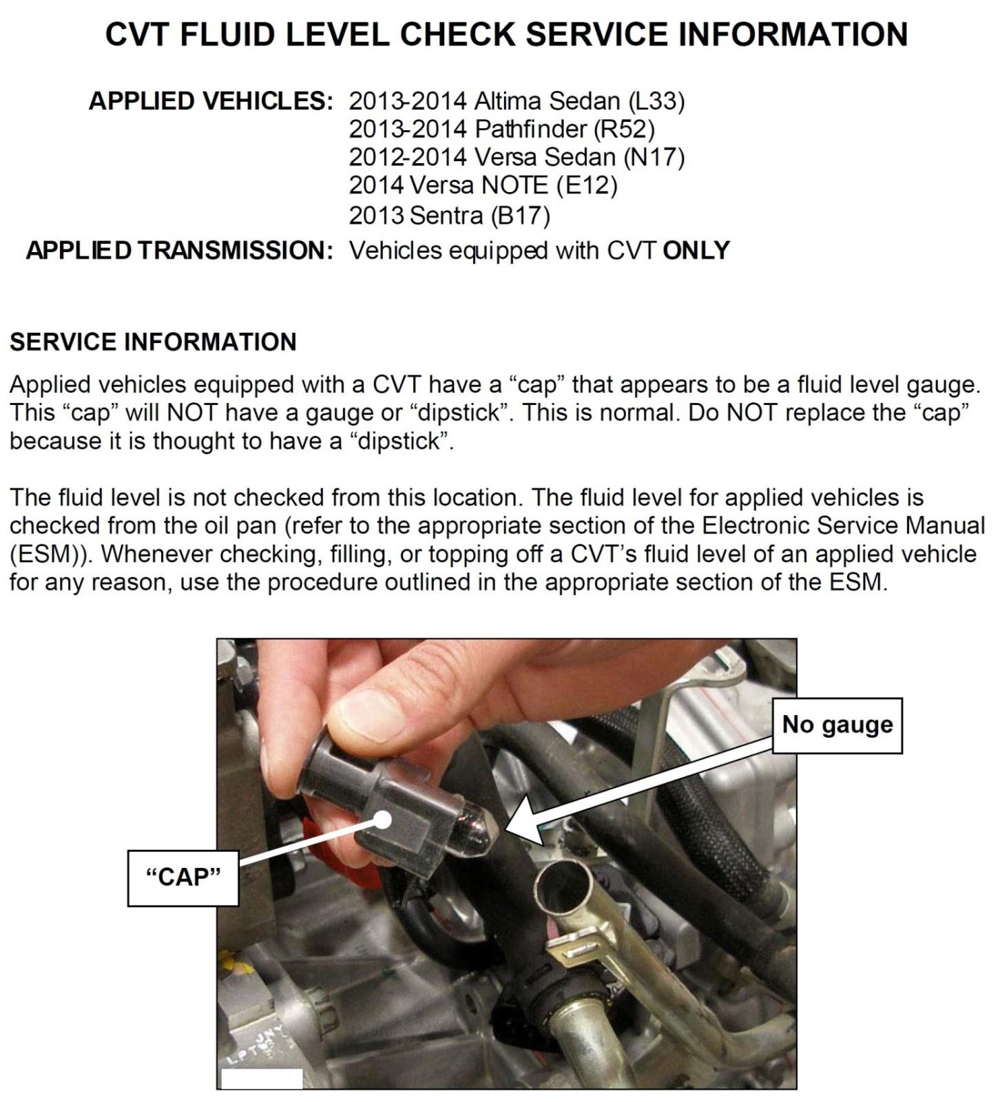 Verificação do nível do fluído da transmissão automática 110gi9s