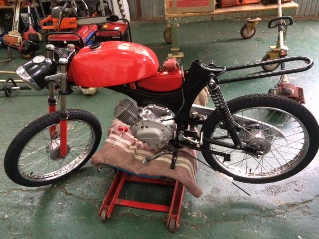 Restauración Moto Guzzi Serva 49 122ma07