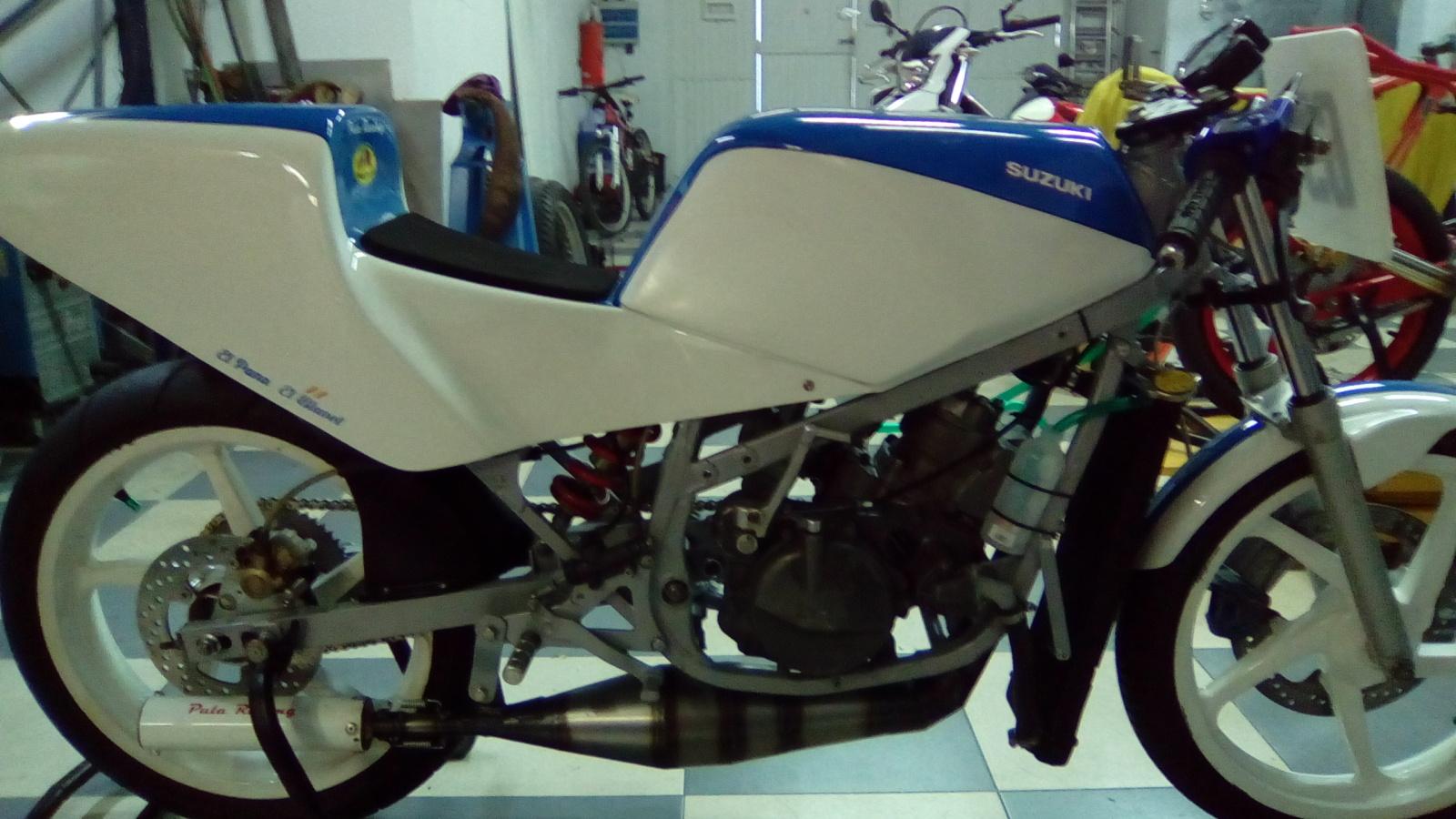 Proyecto Suzuki RG 125 de competición 1492xqh