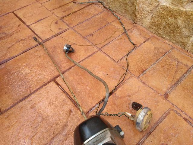 Inicio restauración Mobylette Campera 14b0rog