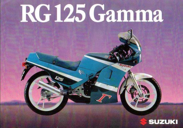 Proyecto Suzuki RG 125 de competición 14ioj95