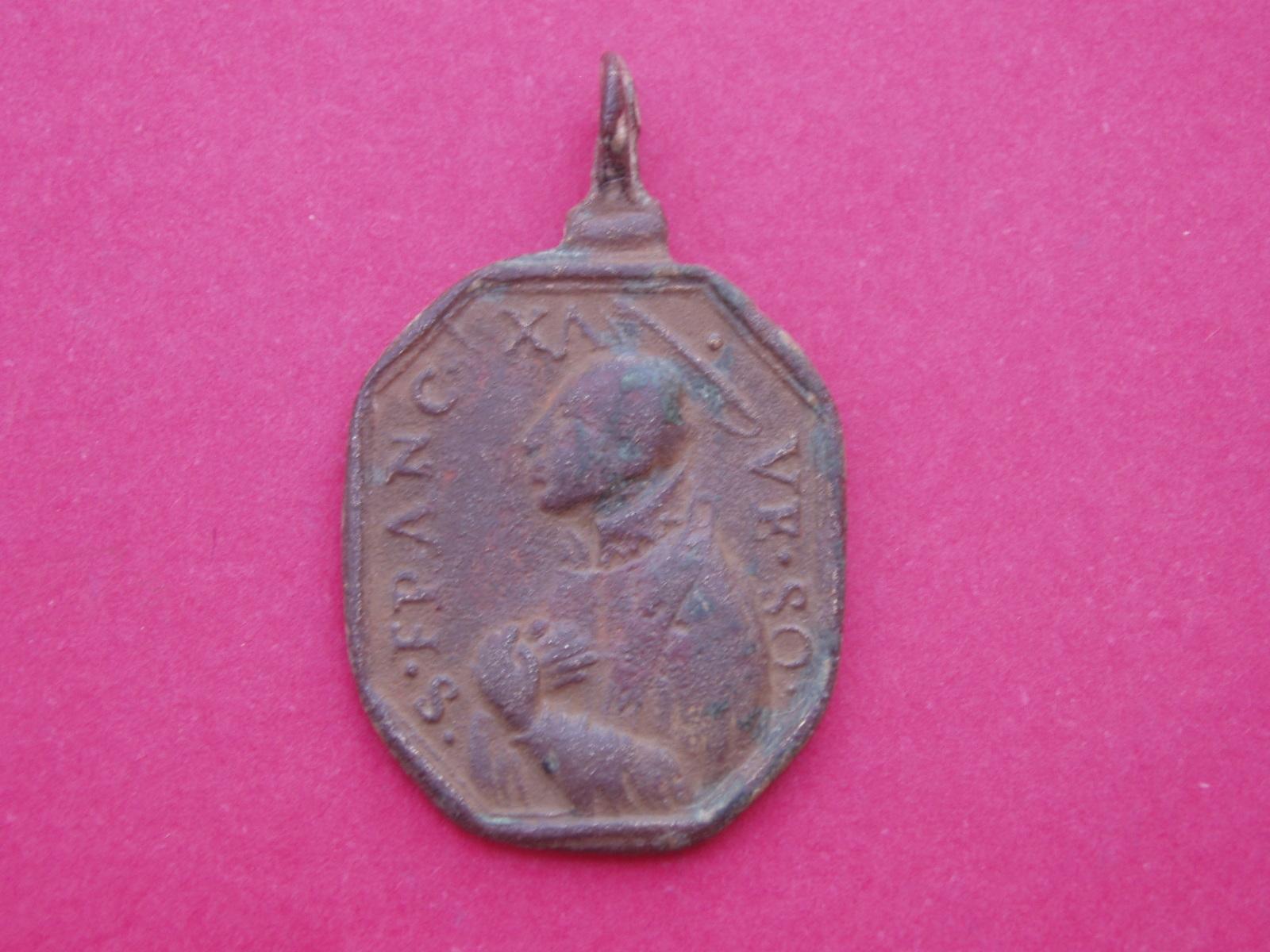 Medalla San Francisco Javier y San Ignacio de Loyola 154dlzn