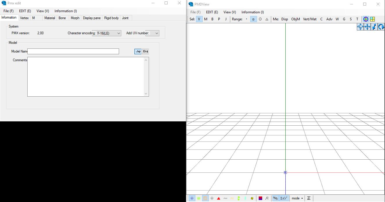 Conversión de archivos 3d MMD con el PMX Editor para The Movies 155nfjq