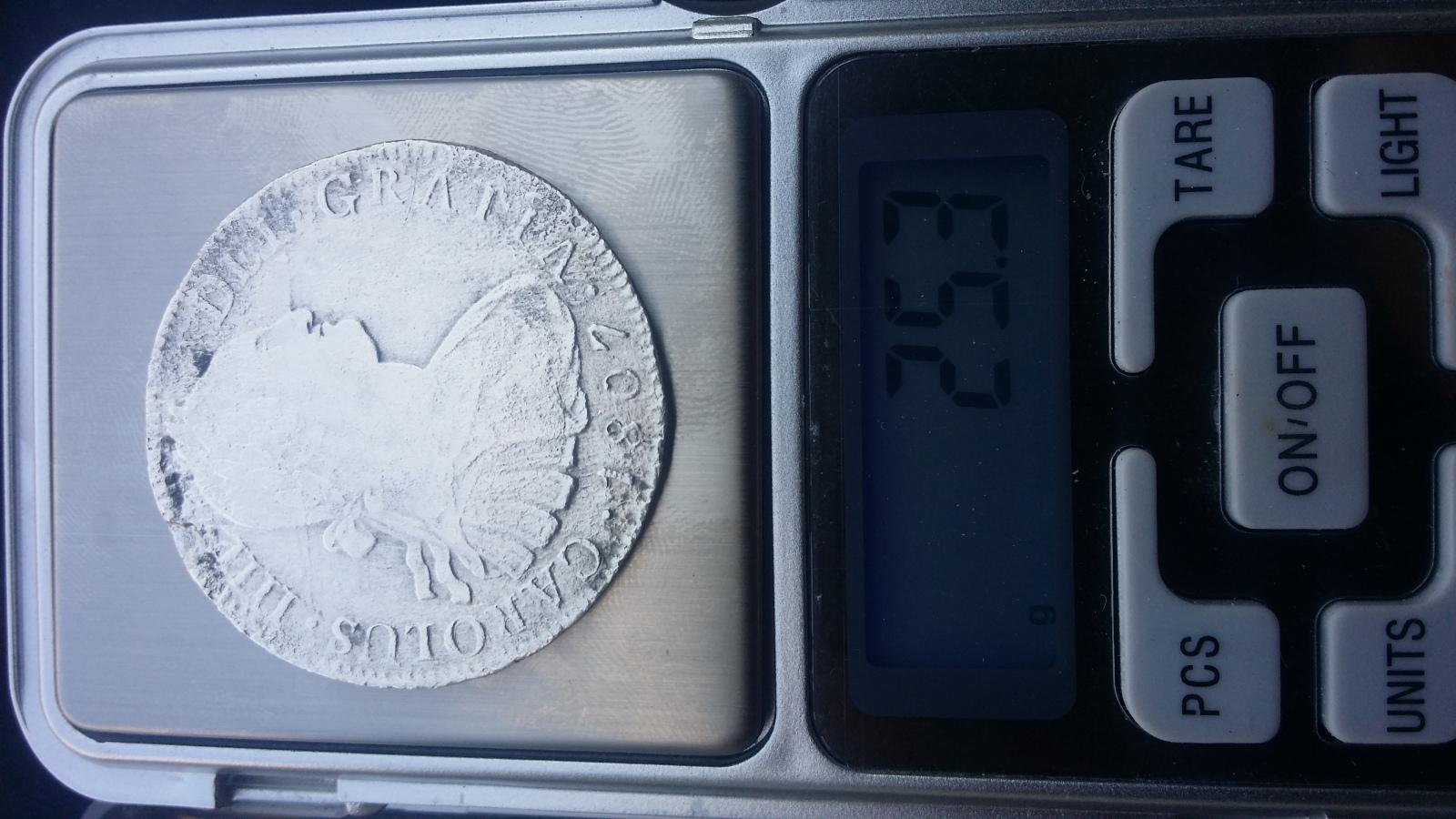 Real A8 Carlos IV (México 1807) T.H 15fhduw